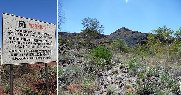Warning Signboard, Wittenoom, Western Australia
