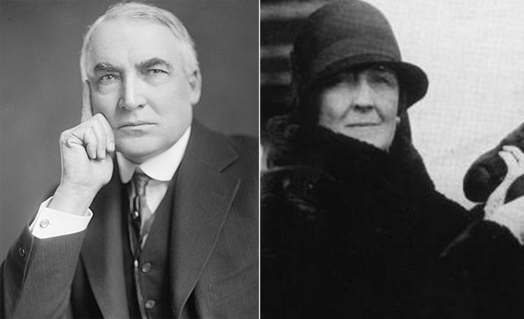 Warren G. Harding and Carrie Fulton Phillips