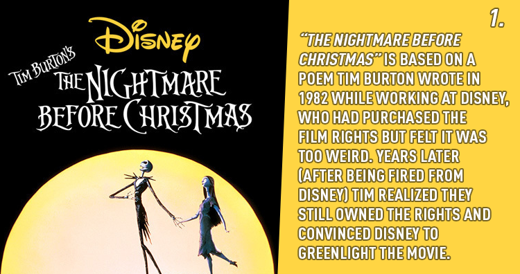 20 fascinating facts about the nightmare before christmas - Who Directed The Nightmare Before Christmas