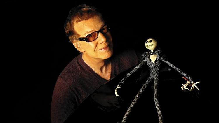 Danny Elfman and Jack Skellington