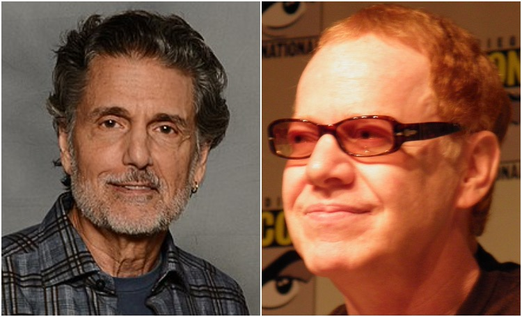 Chris Sarandon and Danny Elfman