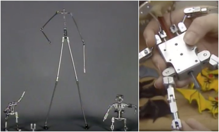 Armatures used in The Nightmare Before Christmas