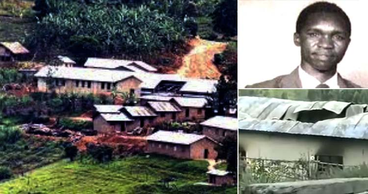 Uganda doomsday cult compound and leader