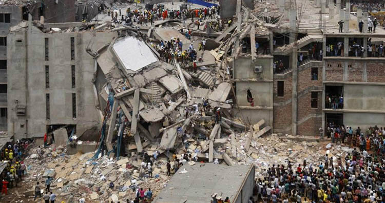 Dhaka Savar building collapse