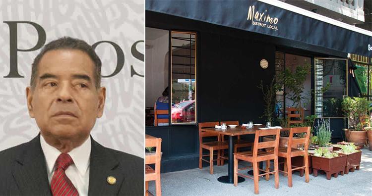 Humberto Benitez Treviño, Maximo Bistrot Local restaurant