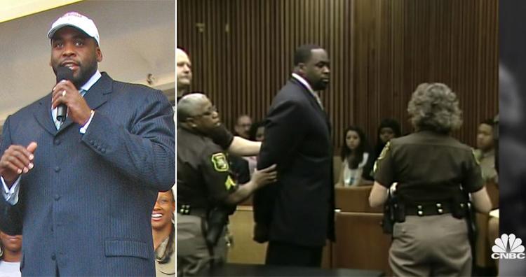 Kwame Kilpatrick, Kwame Kilpatrick's arrest