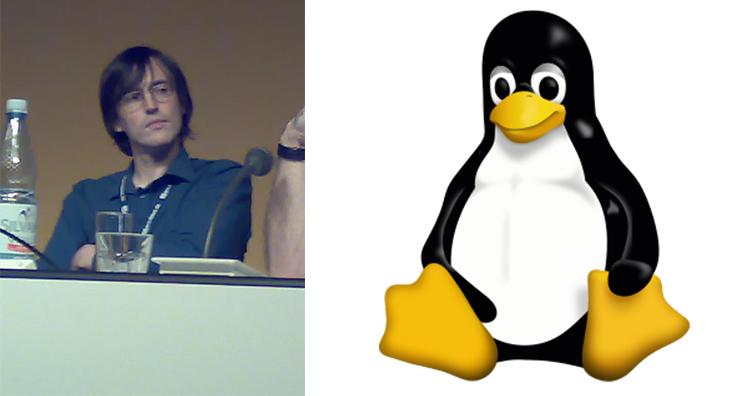Larry ewing, Tux the penguin