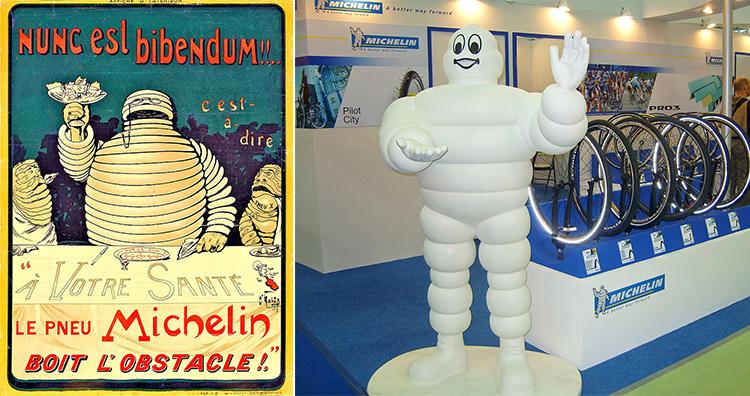 Michelin Poster 1898, Michelin Mascot