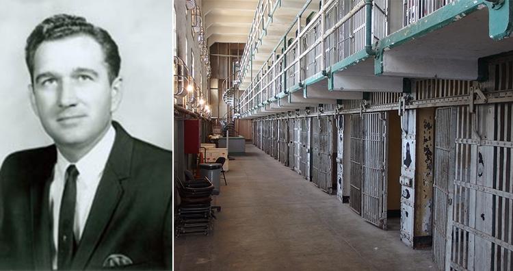 Ray Blanton, Prison Cell Block