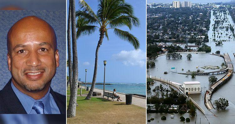 Ray Nagin, Hawaii beach, New Orleans, Louisiana in the aftermath of Hurricane Katrina