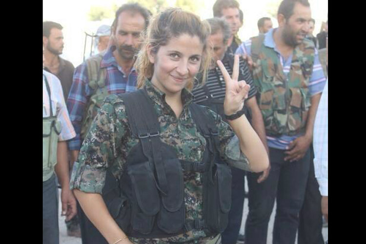 Rehana, AKA the Angel of Kobane