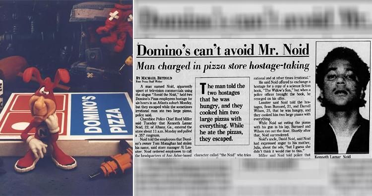 The Noid, Detroit Free Press Newspaper Cutting - Kenneth Lamar Noid