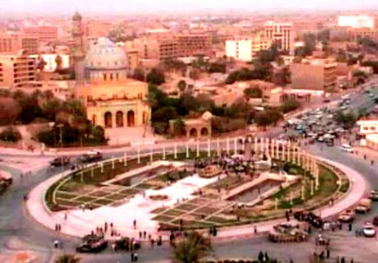 Wide-Angled Photo of Firdos Square