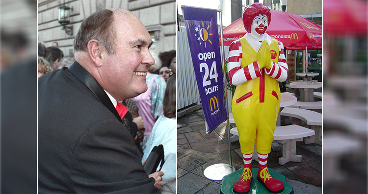 Willard Scott, Ronald mcdonald mascot