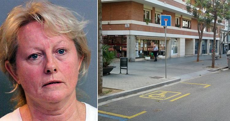 darlene bradley, Handicapped parking