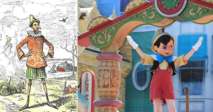 Pinocchio illustration and parade