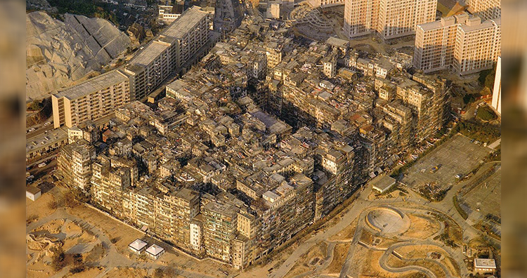 Kowloon Walled City in 1989