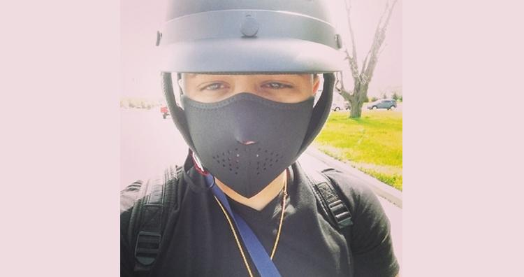 Last selfie of Rapper Jadiel