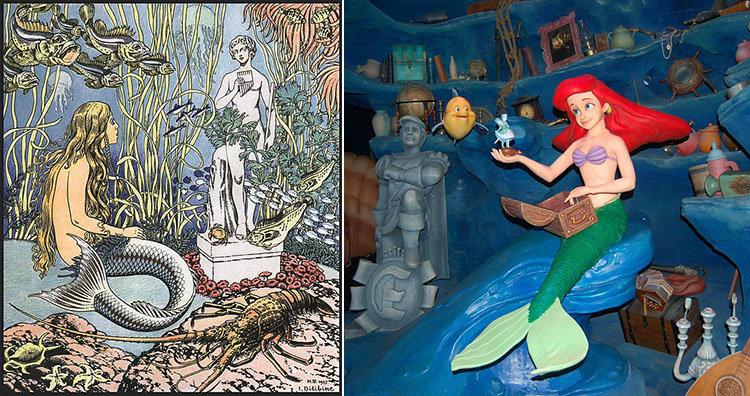 Little Mermaid illustration and display
