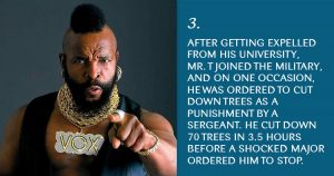 Mr. T facts