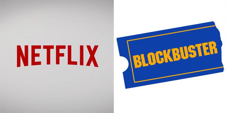 Netflix and Blockbuster