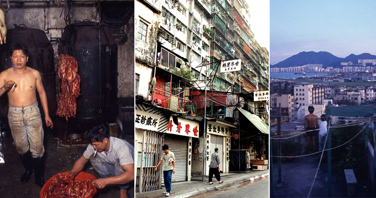 People in Kowloon Walled City