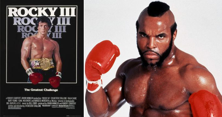 Rocky iii poster, Mr. T