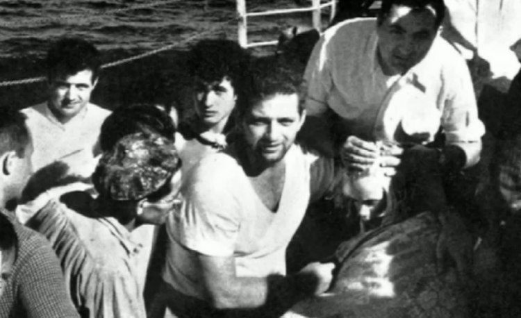 Terry Jo Rescued by Greek Freighter