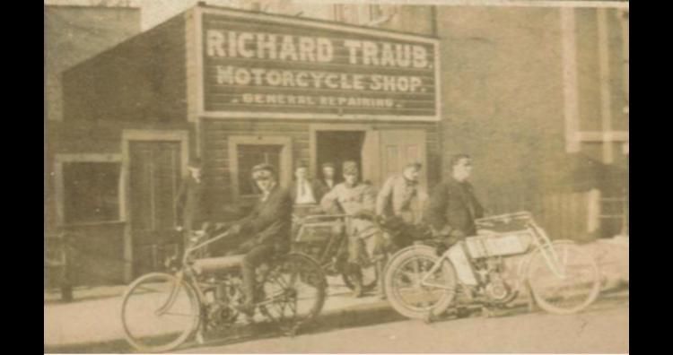 Richard Traub Motorcycle Shop