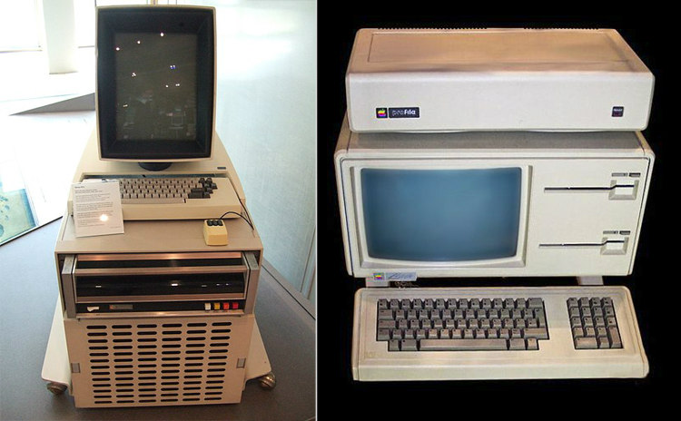 Xerox Alto and Apple Lisa