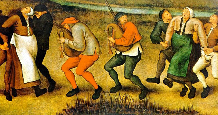 dancing mania, Dancing Plague of 1518
