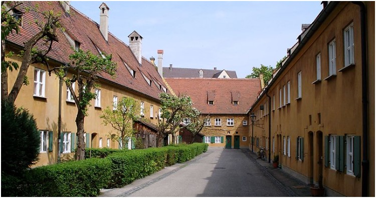 Alley in Fuggerei