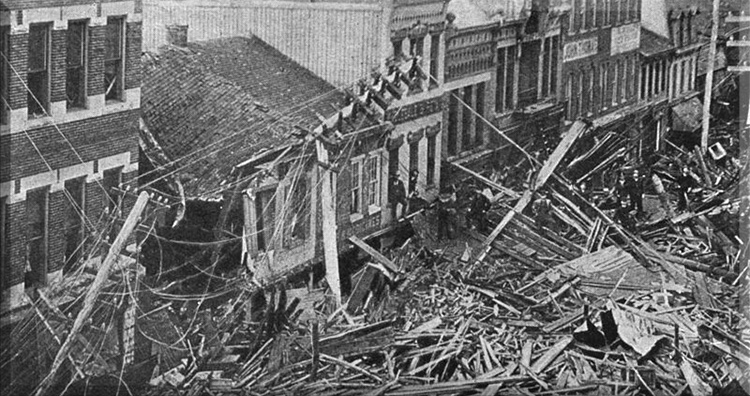 Engineering disasters: Johnstown wiped off by The Great Flood Of 1889