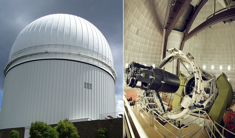 Anglo-Australian Telescope Where Astronomers Found Proof of Shapley Attractor