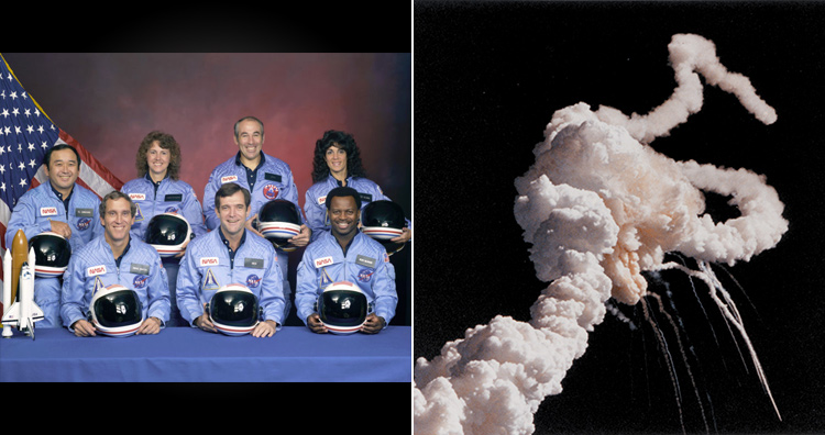 Worst engineering catastrophes: 7 crew members including 1 teacher died when space shuttle Challenger exploded right after the launch.