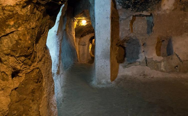Chamber in Derinkuyu Underground City