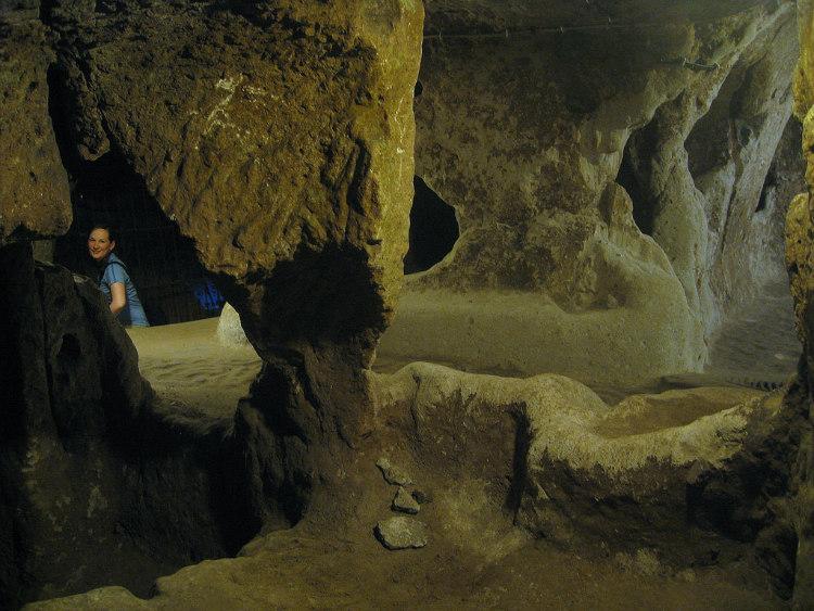 Inside the Underground City