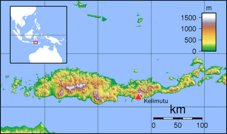 Kelimutu, Flores Island, Indonesia