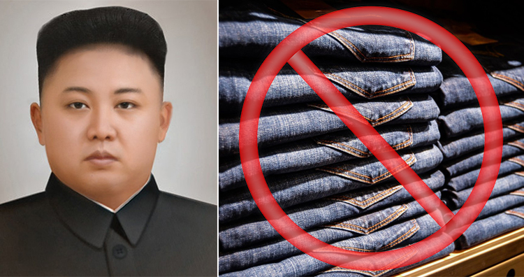 Kim Jong-Un, North Korea No Jeans