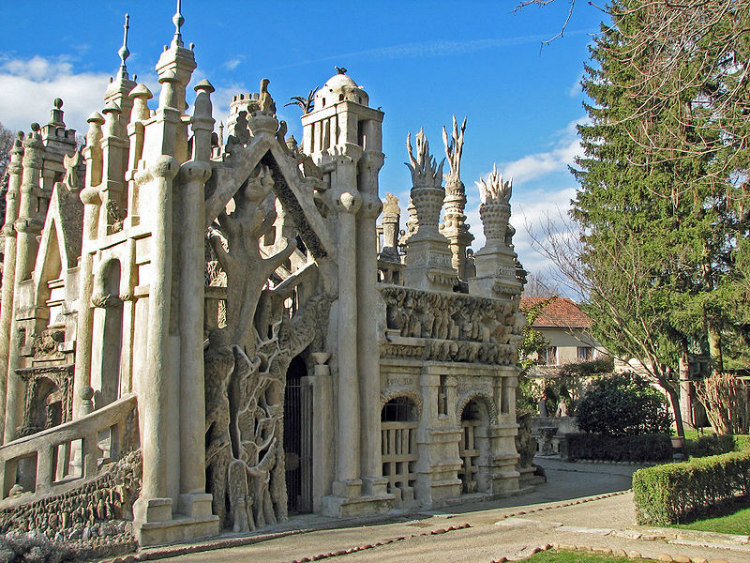 Palais Idéal South Facade