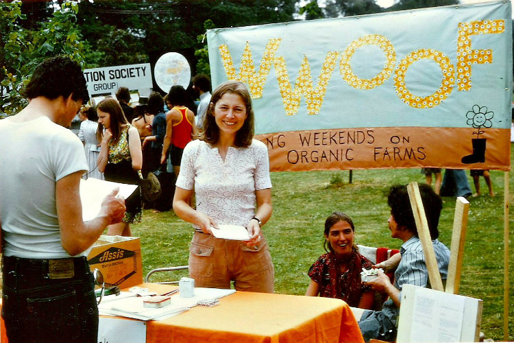 Sue Coppard, Early Days of WWOOF