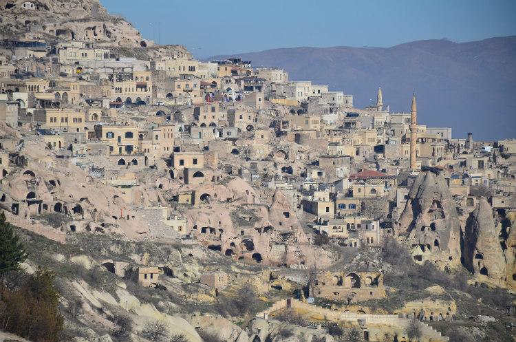 The Upper City of Derinkuyu