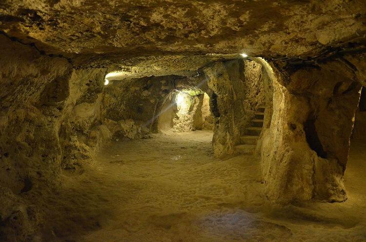 Tunnels and Ways of Derinkuyu