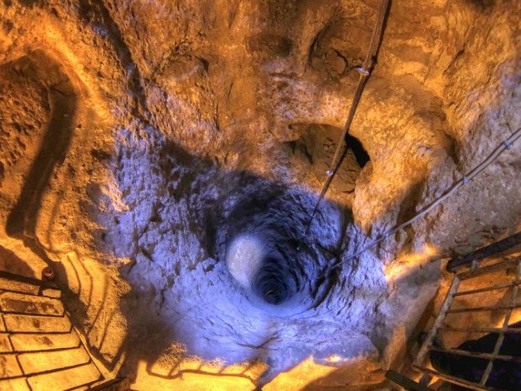 Ventilation Well in Derinkuyu Underground City