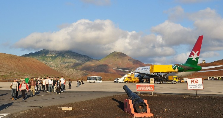 Wideawake Airfield on Ascension Island