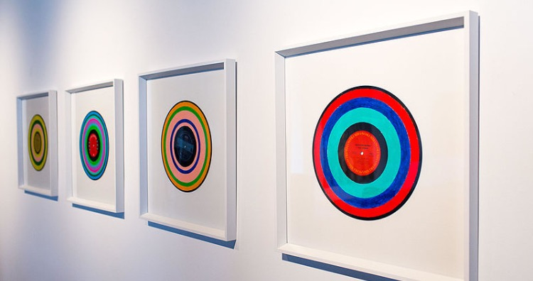 Sonochromatic paintings