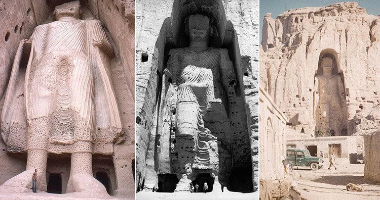 Taliban's Destruction of Giant Buddha Statues