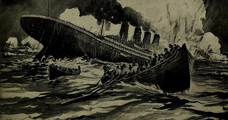 Engineering failures: The famous Titanic sinking