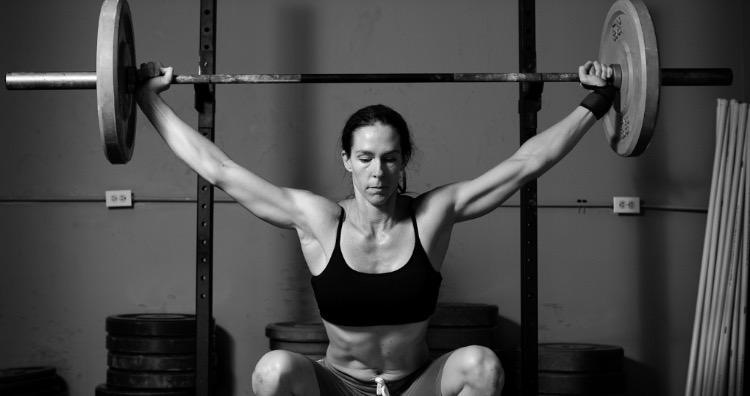 Weight training and women