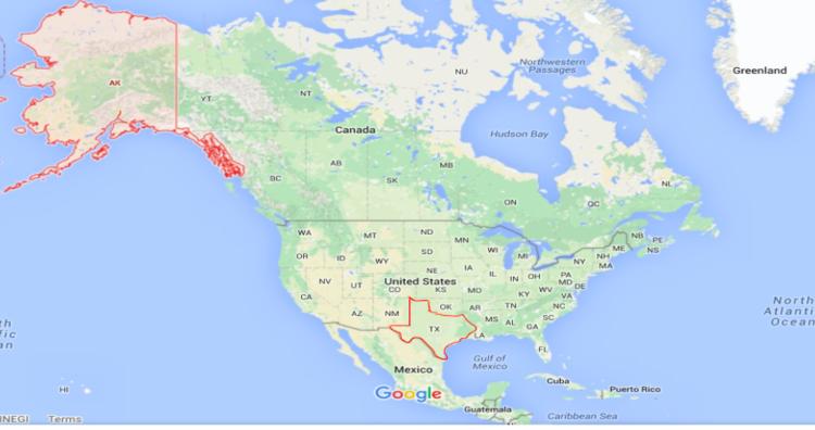Alaska vs Texas comparison